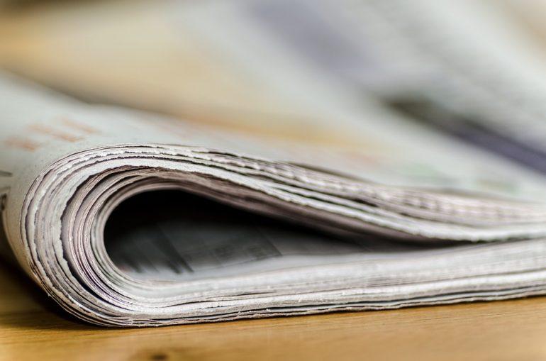 stojak na gazety